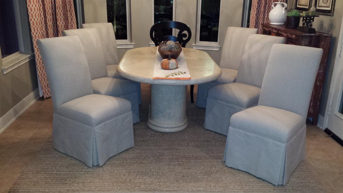 Parsons Chair Slipcovers Houston Slipcovers By Elegant Upholstery